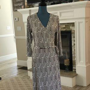 Boden full length dress.